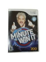 Minute to Win It (Nintendo Wii, 2010) Some adhesive stuck to outer case - $2.50