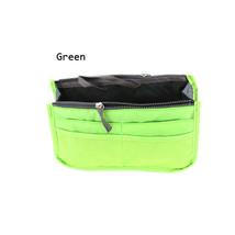 DINIWELL Portable Double Zipper Storage Bag Insert Organiser Handbag Wom... - $16.24 CAD