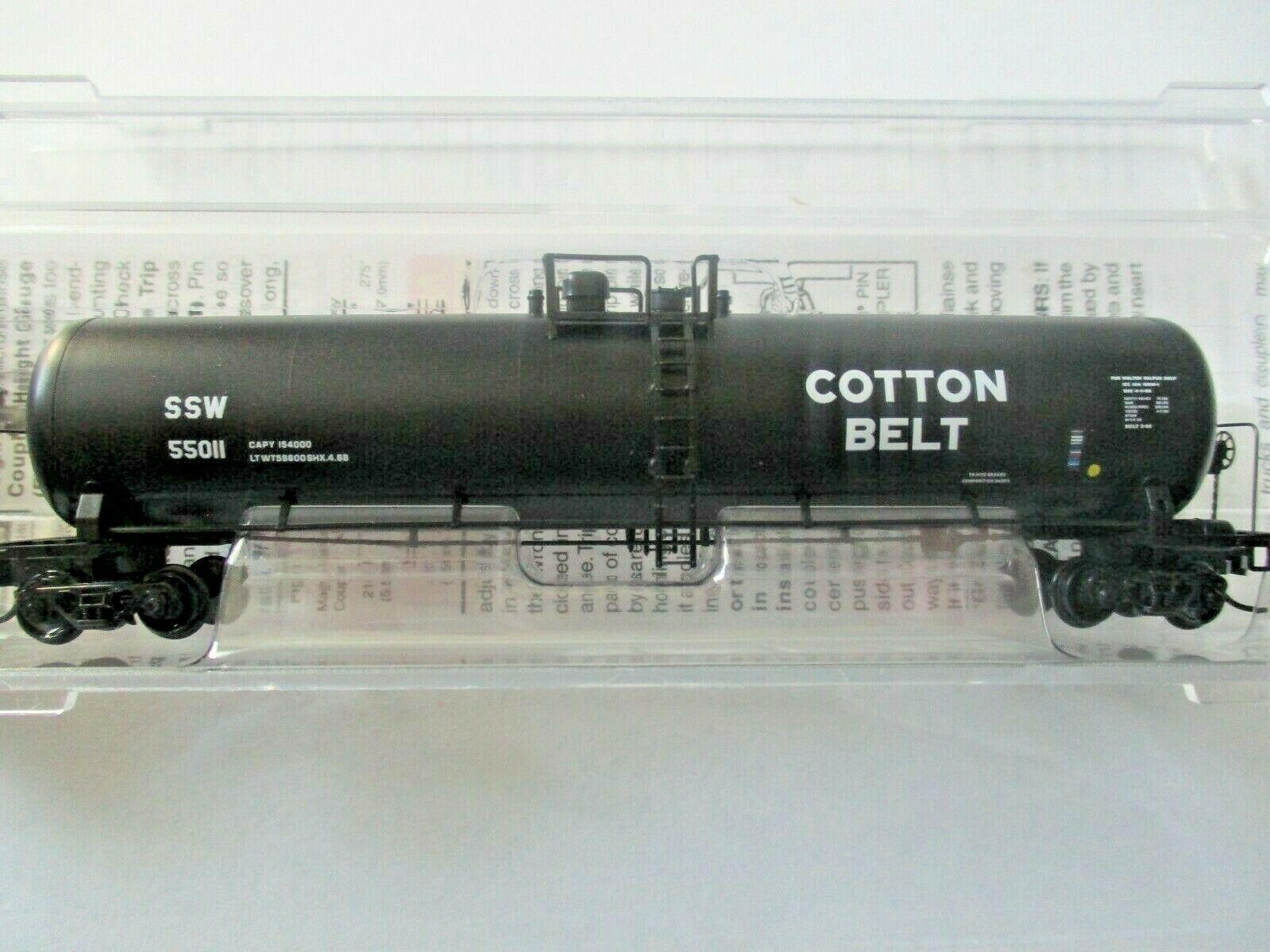 Micro-Trains # 11000510 Cotton Belt 56' General Service Tank Car N-Scale
