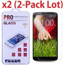 2 Pack Premium Ultra Thin HD Tempered Glass Film Screen Protector For LG G2 - $10.00