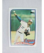 Floyd Youmans Montreal Expos 1989 Topps Baseball Card Number 91 - $0.98