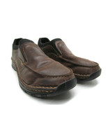 Red Wing Men's 4054 Brown Leather, Slip/ Oil Resistant Loafer Shoe Size 10 - $43.22