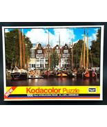 Kodacolor Zand Hoek Amsterdam Holland 1000 Interlocking Pc Puzzle Rosear... - $23.75