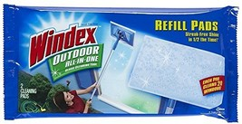 Windex Outdoor All-In-One Window Cleaner Pads Refill - $13.22