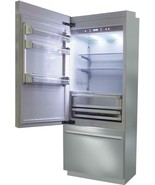"Fhiaba BKI30BI-RS 30"" Brilliance Counter Depth Freezer Refrigerator Stai... - $3,935.25"