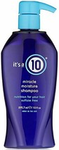 It's a 10  Miracle Moisture Shampoo 10 fl. oz. - $10.95