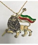 Artisan made 10karat Gold Lion of Judah Pendant Large - $1,725.00