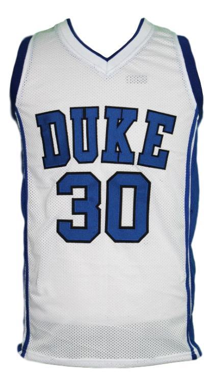 Seth curry college basketball jersey white   1