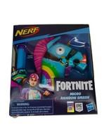 NERF Fortnite Micro Shots Rainbow Smash Llama Blaster Kids Toy Hasbro El... - $15.75