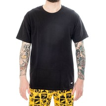 T-SHIRT MAN OBEY JUMBLED 2 TEE SS 165361943.BLK BASIC TEE MAN TRIBES BLACK - $58.29