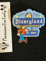 Disney Pin Retro Vintage DLR Disneyland Marquee Sign Goofy 3D FREE SHIP - $20.99