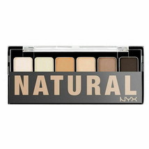 NYX The Natural Shadow Palette-6 Color Eyeshadow Palette-Nudes TNS01 - $7.38