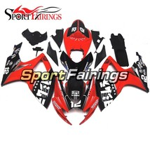 Red Black Fairings For Suzuki GSXR600 750 K6 2006 2007 Injection ABS Covers - $413.26