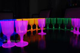 Neon Blacklight Reactive Wine Glasses - 20 ct - $11.50