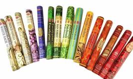 Genuine Hem 12 Box Incense Sticks Mix Assorted Fragrance Agarbatti 20Gm Each Box - $14.94