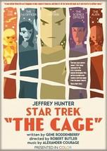 Star Trek Original Series The Cage Episode Poster Refrigerator Magnet NEW UNUSED - $3.99