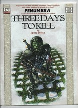 Three Days to Kill - Penumbra - Dungeons & Dragon d20 - SC - 2000 - Prev... - $3.91