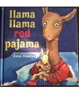 Imagination Library LLAMA LLAMA RED PAJAMA Anna Dewdney Hard Cover - $2.85
