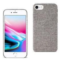 Reiko iPhone 7/8/SE2 HERRINGBONE FABRIC IN DARK GRAY DF01-IPHONE8DKGY - $14.31