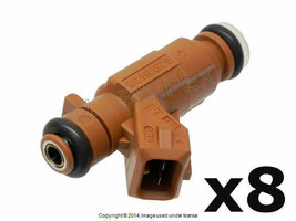 Mercedes r163 r164 (2001-2008) Fuel Injector Set of 8 BOSCH OEM +1 YEAR ... - $598.85