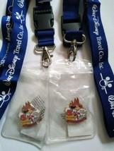 Walt Disney Travel Co. Lanyard - Limited Edition Pins - Passport Holder - New !! - $39.55