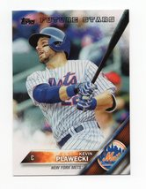 2016 Topps Future Stars Series 1 #326 Kevin Plawecki - $1.50