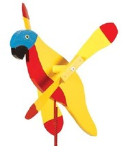 SUNSHINE PARROT WIND SPINNER - Amish Whirlybird Weather Resistant Whirli... - $98.40 CAD