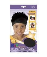 Qfitt Kid Adjustable VELCRO® Brand Mesh Wrap Open Top #545 Black - $5.45