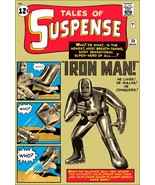 Tales Of Suspense Comic Cover #39 - First / Of Iron Man - Stand-Up Display - $15.99