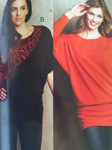 Kwik Sew Sewing Pattern 3720 Misses Ladies Tops Size XS-XL New - $14.85