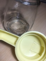 Vintage 60s Federal Housewares Small Syrup/Honey Dispenser with yellow handle image 4