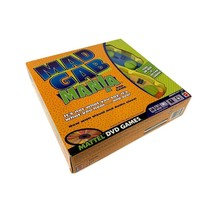 Mad Gab Mania DVD Party Digital Game for 2 Plus Players Open Box But New... - $19.98