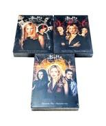 Buffy The Vampire Slayer Seasons 4 5 6 DVD Boxset Lot 3 R1 New Sealed - $49.49