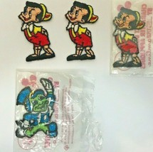 Pinocchio Jiminy Cricket Walt Disney Patch Applique Movie Embroidered  - $14.84