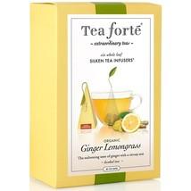 Tea Forte Organic Ginger Lemongrass Herbal Tea - Event Box, 48 Infusers - 4 x 48 - $251.66