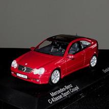 Original Red Mercedes Benz C-CLASS Sport Coupe Evolution Model 2000 Scale 1:43 - $59.00