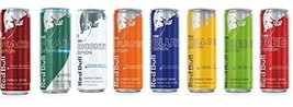 Red Bull Editions Sampler Pack: Red, Yellow, Blue, Orange, Green, Coconut Berry,