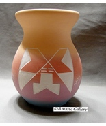 Native American Twiss Lakota Sioux Pottery 5 Inch Jar - $11.90