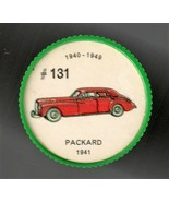 1941 PACKARD Jell-O Picture Wheel #131 - $5.00