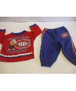 Canadiens Blue Pyjamas Baby PJs 12 Months 100% Cotton - $18.80
