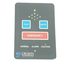 CROWN CONTROLS KEYPAD EECO INC. 798948 REV. A image 1