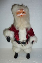 "Vintage 14"" Christmas Santa Claus Doll - $26.11"