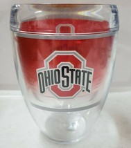 Tervis 9oz Tumbler Ohio State Stemless Wine Glass New - $19.28