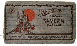 Vintage Pangburn's Cioccolato Taverna Scatola Piedi Worth Texas - $18.49