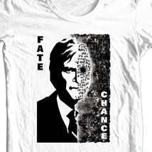Two Face T-SHIRT Harvey Dent Dark Knight DC 100% cotton graphic white tee BM1691 image 1