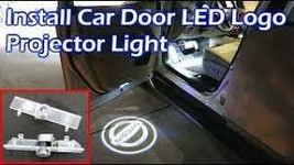 2X PCS LED Car Courtesy Door Logo Light Ghost Shadow Laser Projector for Nissan - $28.00