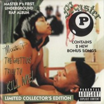 MASTER P THE GHETTOS TRYIN TO KILL ME! CD 1997 15 TRACKS COLLECTOR'S EDI... - $34.64