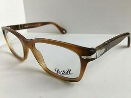 New Persol 3012-V 1018 Camel Brown 52mm Rx Men's Eyeglasses Frame - $179.99