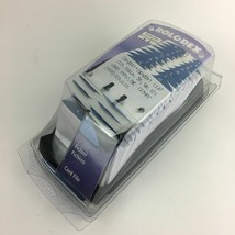 "Rolodex Office Card File 15356 Black 2 1/4"" x 4"" with 500 Blank Cards Se... - $29.65"