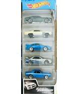 Hot Wheels - Fast & Furious - 5Pk Vehicles  - $14.80
